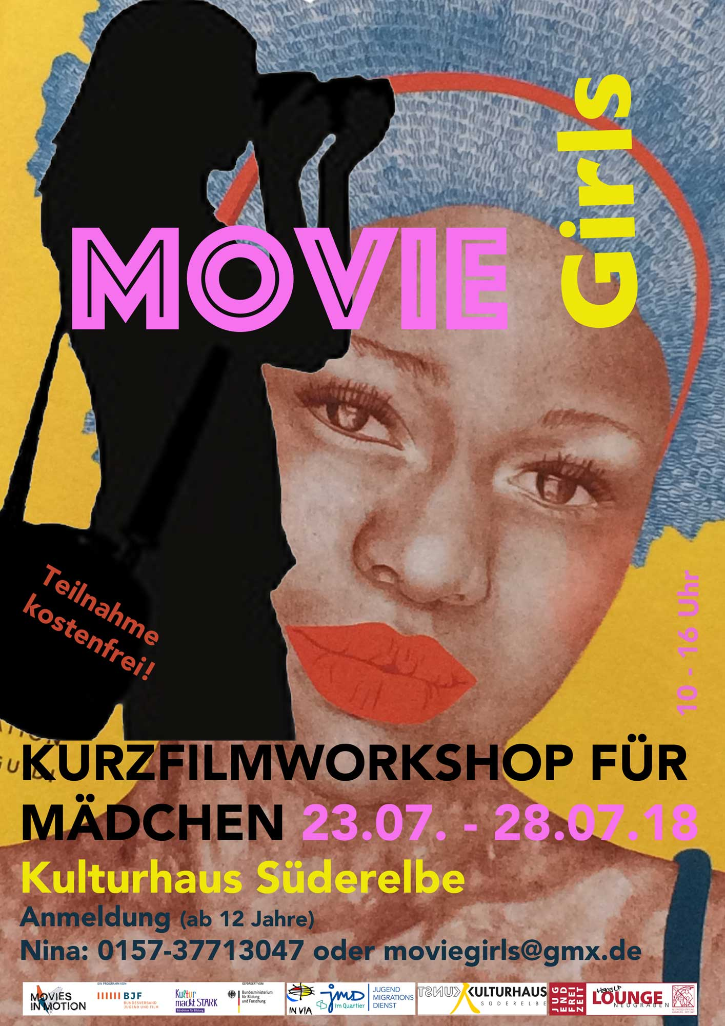 Moviegirls1 50322 MOVIE Girls   Kurzfilmworkshop für Mädchen