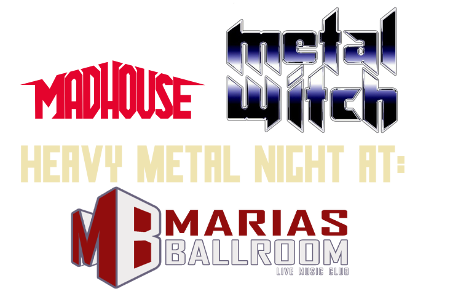 Logo Madhouse Metal Witch final tranz 450 53758 Madhouse & Metal Witch   Heavy Metal @ his best